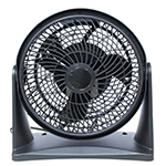 Desk Fan In Text